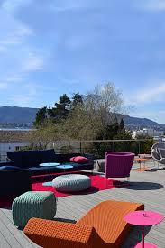 esthec terrace at colombo la famiglia redbox haus in zollikon switzerland design furniture paola lenti