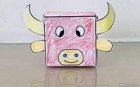 Year of the white metal bull, its meaning and celebration. Chinese New Year Craft Make An Ox Decoration Little Day Out