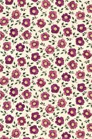 Hellebore China Plum/Green fabric by ...