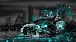 mitsubishi lancer evolution jdm effects city car