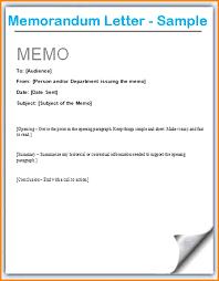 Memorandum Sample Memo Letter Formats Example Of Memorandum Format Within Efficient
