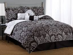 black damask bedding