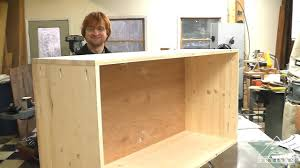 New Easy to Make Cabinet Video up on ArtisanConstruction - YouTube