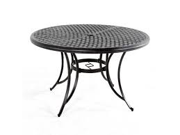 heritage 48 round cast top dining table