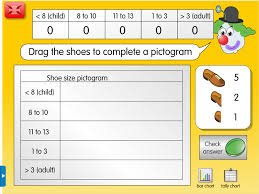 Shoe Size Survey: A year 5, Tally & frequency tables worksheet