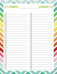 to do lists templates 25 unique list template ideas on pinterest to do lists