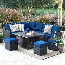 elegant patio furniture. Outdoor Patio Set Elegant Furniture With Gas Fire Pit Table For Prepare Setup Ideas