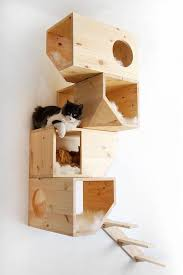 chic cat furniture. Unique Cat Pamper Your Feline Companions With These Luxurious U0027cat Treesu0027 By Catissa  The Maker Of Furniture For Cats Has Designed A Minimalist With Chic Cat Furniture