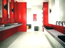 red bathroom decor ideas and black sets full design bl red bathroom decor ideas