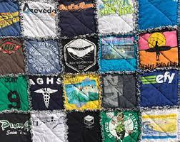 Tshirt rag quilt | Etsy & T shirt Rag Quilt Adamdwight.com