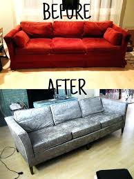 how to reupholster a sofa leather diy cushions