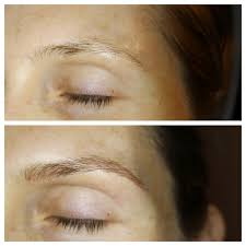 microblading before and after microblading microbladed brows new york brows eyebrow tattoo