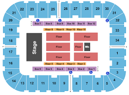 Knoxville Coliseum Seating Chart Berglund Center Coliseum Seating Chart Roanoke