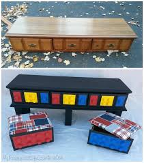 diy lego table from repurposed dresser instructions diy lego table project ideas for kids