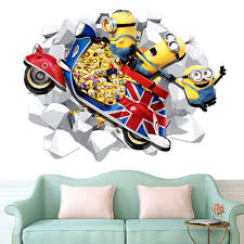 Minion Wallpaper For Bedroom Online Get Cheap 3d Minion Wallpapers Aliexpresscom Alibaba Group