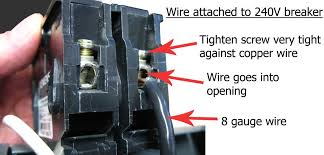 how to replace circuit breaker attach wire s to breaker before pushing breaker in place see image