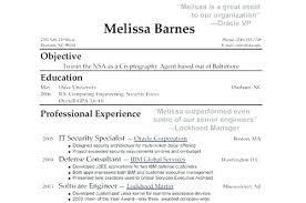 Resume Template Appealing Awesome Sample Professional Resume Elegant