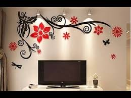 <b>New 3D</b> flower acrylic Crystal <b>Wall Stickers</b> at Wholesale Price ...