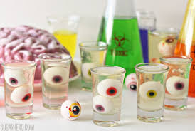 floating eyeball jello shots from sugarhero com