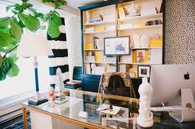 stylish office. Her Office Is Gorgeous, Chic And Absolutely Functional, What\u0027s Not To Love? Hopefully, You Will Be Inspired As Much I Do. Enjoy! Stylish