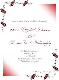 wedding invite template download free paper wedding invite template invitation letter for visit visa