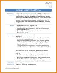7 Sample Resume For Banking Azzurra Castle Grenada