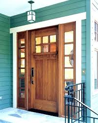 craftsman front doors with sidelights craftsman style exterior doors craftsman front