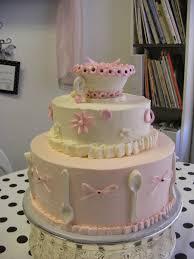 Tea Party Bridal Shower Cakecentralcom