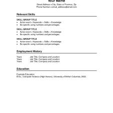 Quick Resume Template All Best Cv Resume Ideas
