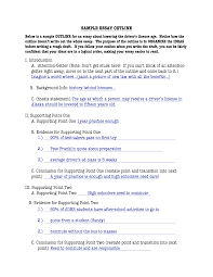 sample essay outline writing center workshops the outline copy of an outline for essay writefiction581webfc2com