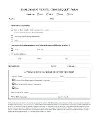 Reference Verification Form Employment Verification Release Form Template Glotro Co