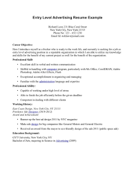 Paralegal Resume Entry Level Resume For Study