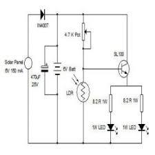 solar night lamp engineersgarage solar night lamp circuit