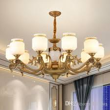 chinese style led chandelier lights lantern personalized zinc alloy classic decorative led chandeliers lighting pendant lamps project vintage led