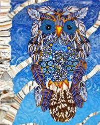 Burlis Winter Solstice Owl Polymer Clay Guild Of Mn
