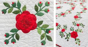 How to hand quilt (+ little quilts to practice on) - Stitch This ... & Virginia's Portland Roses quilt Adamdwight.com