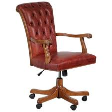 office chairs designer. Italian Walnut And Calf Leather Designer Office Chair For Sale Office Chairs Designer