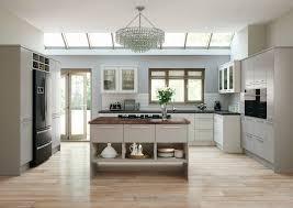 modern slab door inspirational matt or gloss kitchen cabinet