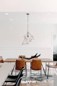 industrial style dining room lighting. Modern Industrial Style In A Utah 4-Bedroom Dining Room Lighting