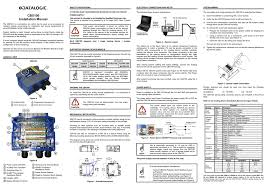 connection box cbx100 manuals users guides please