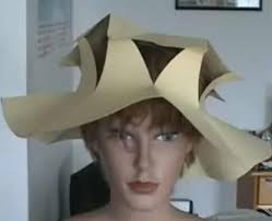 Paper Flower Hats Cool Way To Make Paper Hat