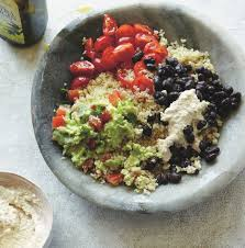 good quick lunch ideas. photo: courtesy of http://www.foodmatters.com/recipe/mexican-quinoa-bowl good quick lunch ideas