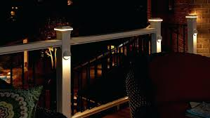 led deck rail lights. Enchanting Deck Rail Lighting Led Lights Decking With Incredible Along Stunning