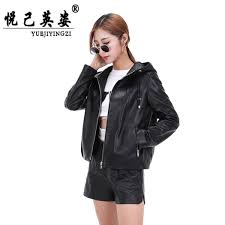new 100 natural leather jacket sheepskin coat spring factory direct supply vest fashion women clothing zipper high half sleeve malaysia