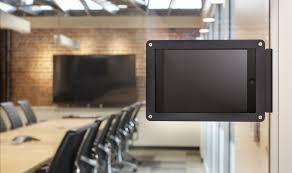 Glass conference rooms Frameless Mount Get Heckler Mount For Conference Rooms Avent Interiors Mounting Guide For Glass Conference Rooms Robin Help Center