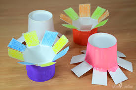 How To Make Flower With Paper Folding How To Make Paper Flowers For Kids