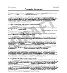 Prenuptial Agreement Pa Taforum Info