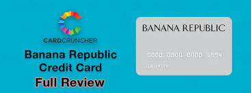 Banana Republic Credit Card Review Cardcruncher