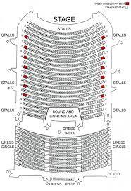 napier munil theatre seating layout
