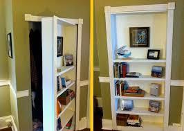 how to build a bookcase door